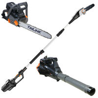 "120 Volt Redback Tools - 18"" Chain Saw, 8"" Pole Saw and Blower"