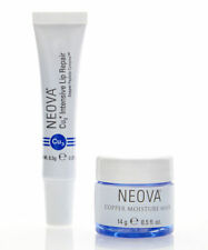 Neova Cu3 Intensive Lip Repair 0.29oz  - Plus Sample Copper Moisture Mask BNIB