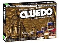 Cluedo Edición Madrid - El Clásico Juego de Misterio - Versión Español