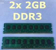 4GB DDR3 RAM Kit - 2x 2GB DDR3-1333 DIMM nonECC