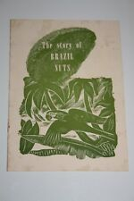 Vintage The Story of Brazil Nuts Booklet