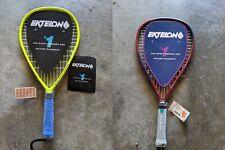Lot of 2 New Graphite Ektelon Racquetball Racquets Centar Vectra Xs X-Small Grip