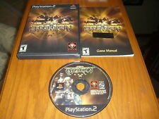 Barbarian PS2 Sony PlayStation 2 COMPLETE CIB Fast Shipping Worldwide!!! TESTED!