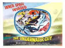 1962 THE UNDERWATER CITY VINTAGE SCI-FI MOVIE POSTER PRINT STYLE C 36x48 BIG