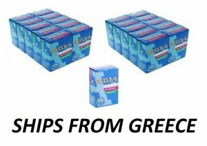 PACKETS RIZLA 6mm SLIM CIGARETTE ROLLING FILTER TIPS - 150 TIPS PER PACKET -