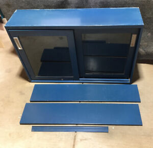 "Fisher Hamilton Lab Casework Upper Storage Cabinet Blue  48""x31""x13"" HM718H833B"