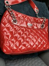 Kenneth Cole Red  Quilted Large Tote