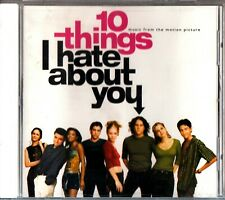 10 THINGS I HATE ABOUT YOU- 1999 CD Soundtrack- Richard Gibbs (Heath Ledger)