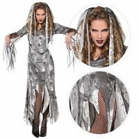 Adulto Mujer Ghoul Pirata Fantasma Disfraz de Princesa Mujer Halloween