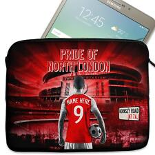 "Personalised Tablet Sleeve ARSENAL Neoprene Football Case 7"" 8"" 9"" 10"" 11"" AP07"
