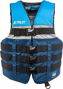 Jet Pilot S1 Nylon CGA Wakeboard Vest Mens Sz XXL/XXXL Blue