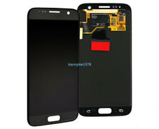 Vitre Tactile Ecran d'affichage LCD Pour Samsung Galaxy S7 G930F G930+cover noir