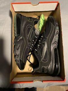 Nike Air Max 270 React SP Black/Electric Green Size 11.5, CQ6549-001 (40-0)