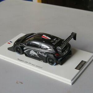 miniature 1/43 Peugeot 208 test car PIKES PEAK  SPARK