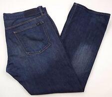LACOSTE Jeans 41 32 Dark BLUE Mens SIZE Jean COTTON Sz DEVANLAY Classic STRAIGHT