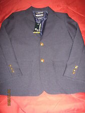 "BOYS BLAZER School Uniform by FRENCH TOAST ""Navy"" Size 10 NWT"
