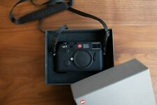 Leica M7 0.72 35mm Rangefinder Film Camera - Black (10503)