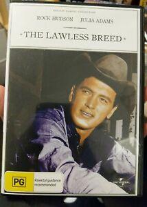 The Lawless Breed (1953) : Rock Hudson  DVD Region 4 Australia