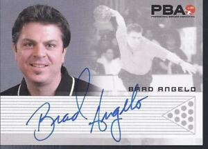 2008 PBA Bowling Autograph Brad Angelo