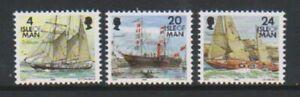 Isle of Man - 1996, Ships stamps (21mm x 18mm) set - MNH - SG 687, 689, 693
