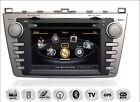 "Mazda 6 7"" TFT Autoradio Navigation GPS DVD MP3 USB SD 3D DVB-T"
