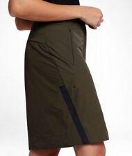 Nike Sportswear Bonded  Casual Skirt Women's  Cargo Khaki/Black L