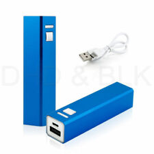 Cargadores, bases y docks azul cargador portátil para teléfonos móviles y PDAs