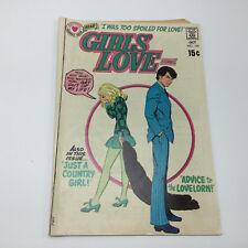 original Romance Comic -- GIRLS' LOVE stories  # 154 -- Oct 1970 -- DC - clean