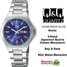 AUSSIE SELER GENTS DRESS WATCH CITIZEN MADE A164-212 DAY/DATE 50M WATER RESIST