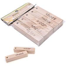 Natural Camphor Wood Block Pest Moth Moistureproof Deodorization Aromatic Wood &