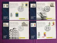 """2011 Cartoline Filateliche FDC """"150°ANNIVER. UNITA' D'ITALIA MARINA MILITARE"""""""