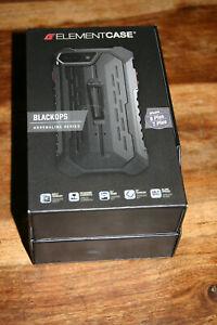 Element Case Black Ops Adrenaline Series Black EMT-322-134EZ-01 iPhone 7 8 Plus