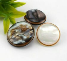 50pcs Meetee 21/25mm New Resin Buttons Decorative Buckles Sewing Accessories