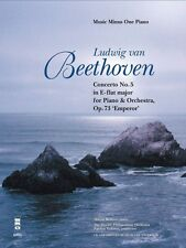 Beethoven Concerto No. 5 in E-flat Major Op. 73 Sheet Music Piano Book 000400018
