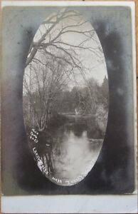 1909 Realphoto Postcard: 'Larry's Creek - Jersey Shore, Pennsylvania PA'