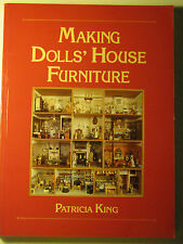 Making Dolls' House Furniture by Patricia King 1993 Paperback Hobby woodcraft