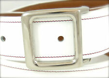 """BURCH BOX 1-1/2"""" Solid Titanium Belt Buckle with Polished Finish (Buckle Only)"""