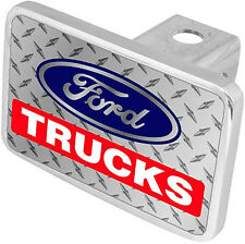 New Ford Trucks Blue Logo Tow Hitch Cover Plug