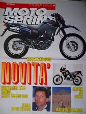 Motosprint 41 1989 Parla Eddie Lawson. Rally dei Faraoni. CAgiva 50 Cocis [Q78]