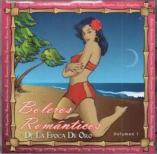 Boleros Romanticos  de la Epoca de Oro   VOL 1  BRAND NEW SEALED CD