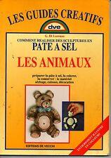 COMMENT REALISER DES SCULPTURES EN PATE A SEL     LES ANIMAUX  1998