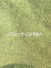 10g Olive Green Glitter Dust. Bath Bombs. Soap. Cosmetics. Nails. Crafts.
