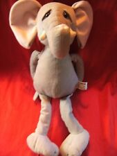 """RUSS BERRIE PLUSH LARGE  ELEPHANT   SOFT TOY 19"""" APPROX"""