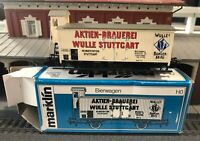 Märklin 4678 – Aktien Brauerei Beer Freight Car – HO – NEW OLD STOCK