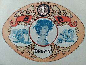 Brown University 1907 Postcard Football Player Woman Shield Gordon Providence RI