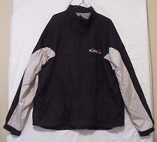 World Toyota Scion Jacket sz L Port Authority Full Zip All-Season Fleece Lined