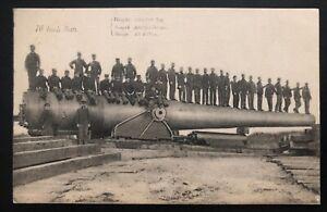 Mint USA Real Picture Postcard RPPC 16 Inch Gun Canon