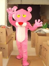 Parade Pink Panther Mascot Costume Halloween Party Xmas Cartoon Dress Outfit HOT