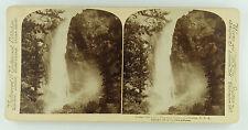 Underwood & Underwood Stereoview of Bridal Veil Falls, Yosemite Valley, CA 1894