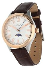 Rotary Herren Armbanduhr braun GS02850-06